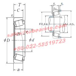 NSK 30352 bearing,30352 Tapered Roller Bearings