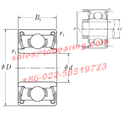 NSK 627DD bearing,627DD Deep Groove Ball Bearings