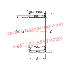 Timken NKJ45/35 bearing,NKJ45/35 Needle Roller Bearings